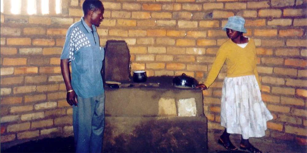 Energiepsarofen, gebaut in Zimbabwe von Richard Jussel