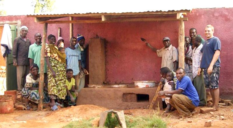 Energiesparofen Tansania