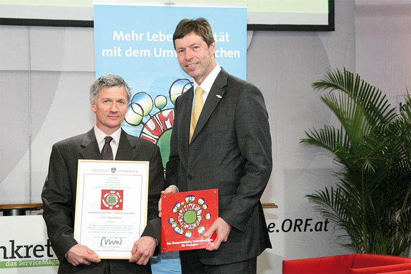 Österreichisches Umweltzeichen Verleihung 2012