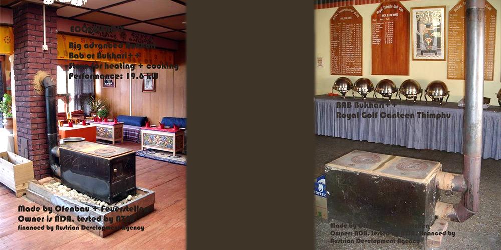 Bukhari für Restaurant und Golfkantine