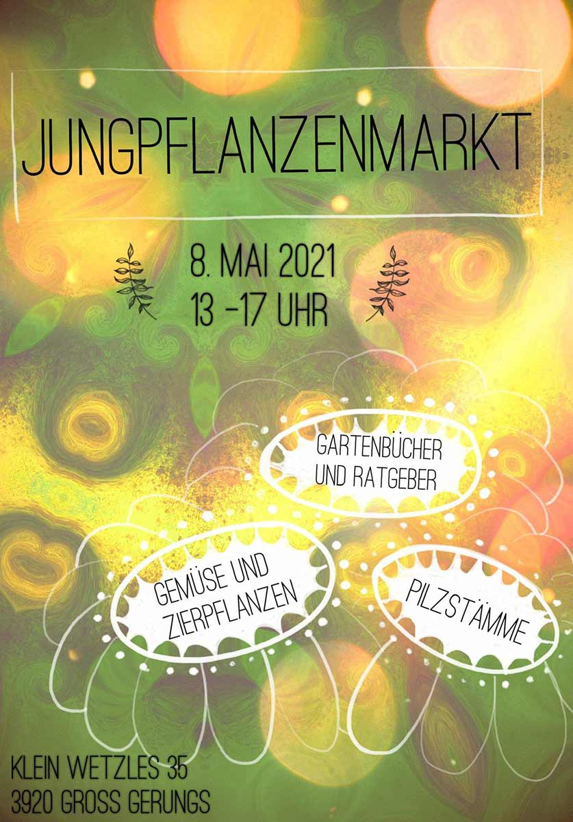 Jungpflanzenmarkt 8. Mai 2021